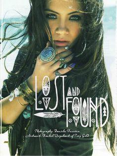 The beautiful Mahina for Disfunkshion Magazine
