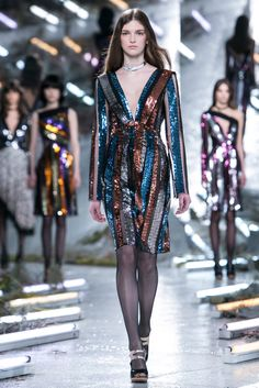 A look from the Rodarte Fall 2015 RTW collection.