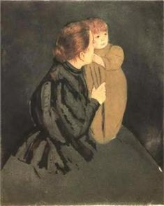 Peasant Mother and Child - Mary Cassatt, 1894
