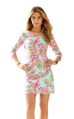 The Charlene scoop neck dress with sleeves is a Lilly girl favorite. From the plane to a day of activities, this dress is comfortable and stylish for the girl on the go.