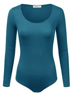 New Trending Bodysuits: Doublju Stretchy Scoopneck Rayon  Ribbed Knit Bodysuit (Made In USA / Plus size available) TEAL MEDIUM. Doublju Stretchy Scoopneck Rayon  Ribbed Knit Bodysuit (Made In USA / Plus size available) TEAL MEDIUM  Special Offer: $15.99  300 Reviews Doublju Stretchy Scoopneck Rayon  Ribbed Knit Bodysuit (Made In USA / Plus size available) MEASUREMENTS AWSBSL09 : S –...