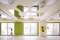 lmh kindergarten by moriyuki ochiai architects, tokyo, japan 61715 (via architizer)
