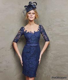 Коллекция коктейльных платьев для леди - Pronovias 2016