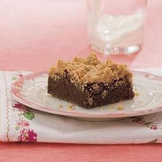 Peanut Butter Streusel Brownies | MyRecipes.com