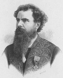Paul Leroy Beaulieu, professeur au collège de France, économiste et partisan de l'entreprise coloniale.