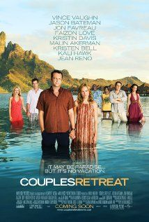 Couples retreat with Vince Vaughn, Jason Bateman and Kristen Bell. Hilarious comedy that I was somewhat surprised that I liked so much! Vince Vaughn, Kristin Davis, Jean Reno, Kristen Bell, Kali Hawk, Funny Movies, Comedy Movies, Great Movies, Funniest Movies
