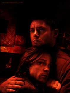 Such a beautiful and sad piece of Sam and Dean fanart! <3 Sam looks so scared