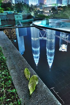 Petronas Towers, Architectural Photographers, Pond, Architecture Design, Reflection, Outdoor Decor, Photography, Home Decor, Temples