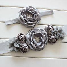 Fashion flower Sash,Girl Woman Sash Belt Wedding Sashes matching  burned fabric flower 1 SET on Aliexpress.com | Alibaba Group