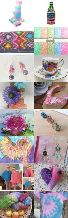 It Takes Many Colors by Cindy Humphrey on Etsy--Pinned with TreasuryPin.com