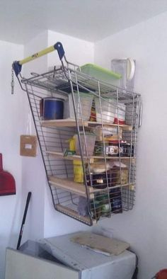 Kitchen Interior Design Ideas...level: red neck I could do this. There is a shopping cart in yard