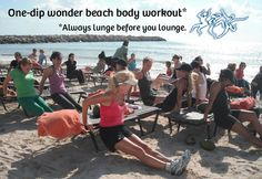 Take your classes out of the gym and onto the beach! FitBodiesInc.com