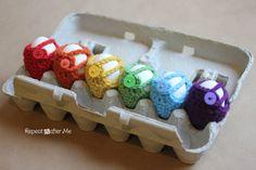 Crochet Egg Cozy Pattern