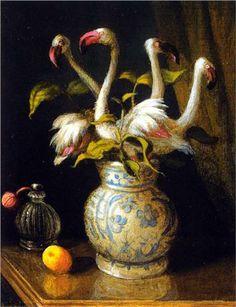 Pink Flamingos - Michael Sowa