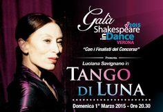 Di notte, sotto la luna, in un posto qualsiasi di questo mondo, nasce il Tango di Luciana Savignano. Una grande artista incontra il tango, e il tango incontra la sua vita, i suoi pensieri. Passato, presente e futuro scorrono su tre linee parallele