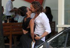 Igor Rickli (Brazilian Actor) and his wife Aline Wirley (Brazilian singer and actress).