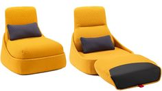 Cord Conquering Convertible Lounger Might Be The Comfiest Home Office Ever | Gizmodo Australia