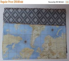 Spring Sale- Novelty Collection Fabric Bundle,End of 18 inches ~Fast Shipping Spring Sale, Decorative Pillow Covers, Vintage World Maps, Cotton Fabric, Quilts, Unique Jewelry, Handmade Gifts, Projects, Etsy