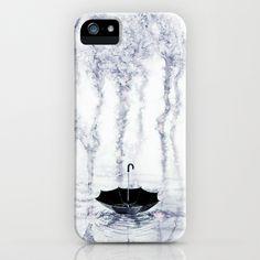 Rain iPhone Case by Maria Bozina - $35.00