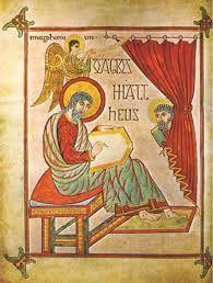 San Mateo en Evangelario de Lidisfarne