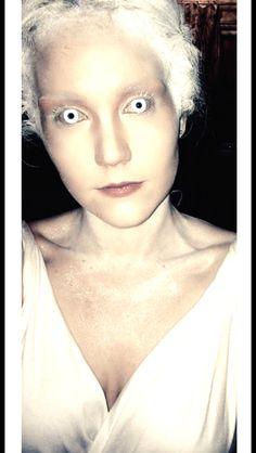 Ice Queen/ Snow Queen inspired makeup #fancydress #halloween #icequeen #snowqueen