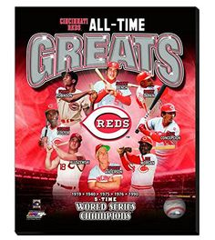 Cincinnati Reds All Time Great players Canvas Framed Over With 2 Inches Stretcher Bars-Ready To Hang- Awesome & Beautiful-Must For A Championship Team Fan! All Teams Canvas Available-Please Go Through Description & Mention In Gift Message If Need A different Team-Choose Size Option (16 x 20 inches stretched Cincinnati Reds All Time Greats Canvas) Cincinnati Reds All Time Great players Canvas Framed Over With 2 Inches Stretcher Bars-Ready To Hang- Awesome & Beautiful-Must For A Championship…