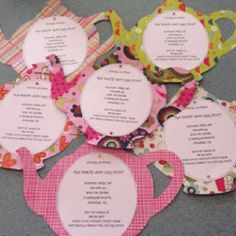 Make your own tea party invitations httpdo it yourself tea party invitations so easy and cute solutioingenieria Images