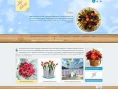 Template: a040 Airy, natural, realistic web design in light brown color with blue accents.  Recommended for: Florists, Art and Gift articles, Women's and Kid's apparels, Hotels and Restaurants, Glass, Marble, Interior Decorators,Event Management, Spa & Salon, Chemicals