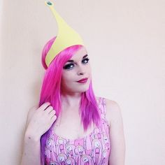 Pin for Later: 77 Drop-Dead-Gorgeous Halloween Costumes For Rainbow Hair Colors  Princess Bubble Gum from Adventure Time