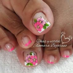 Magic Nails, Toe Nail Designs, Toe Nails, Pedicure, Nailart, Beauty, Designed Nails, Work Nails, Enamel