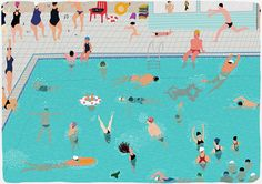 swimming pool_2013 on Behance