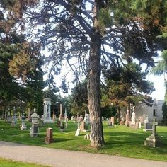 Staff was at Union Cemetery last week, researching for our annual tour in September