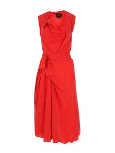 Vivienne Westwood Anglomania Apron Fish Red Dress at Coggles
