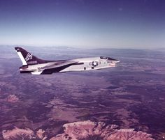 F-8 Crusader. This was one bad ass jet