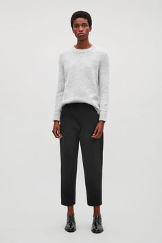 COS | Cropped jersey trousers