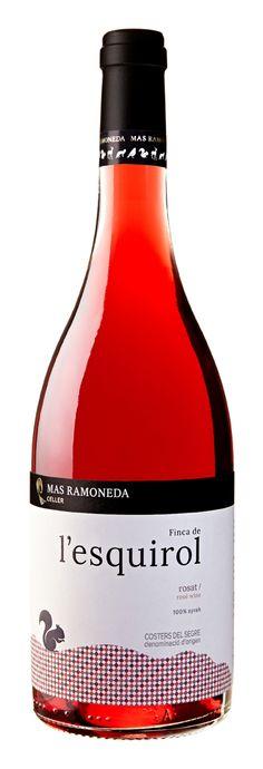 MAS RAMONEDA. Finca de l'esquirol. Rosat   Rosé wine