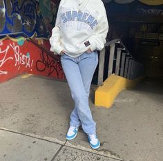 Cute Swag Outfits, Tomboy Outfits, Chill Outfits, Tomboy Fashion, Dope Outfits, Retro Outfits, Streetwear Fashion, Trendy Outfits, Black Girl Fashion