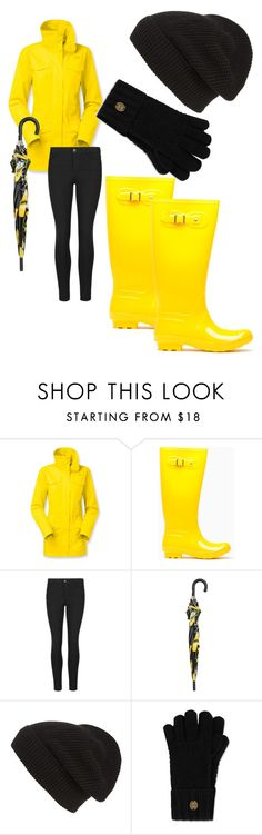 """Brightening a rainy day ☔️"" by lulularouche ❤ liked on Polyvore featuring The North Face, Indigo Collection, Dolce&Gabbana, Phase 3 and Napapijri"