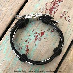Mini-Hundehalsband-2cm-breit-Schwarz-Weiß-5