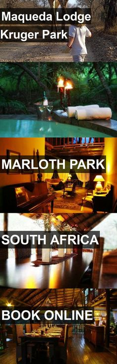 Hotel Maqueda Lodge Kruger Park in Marloth Park, South Africa. For more information, photos, reviews and best prices please follow the link. #SouthAfrica #MarlothPark #travel #vacation #hotel
