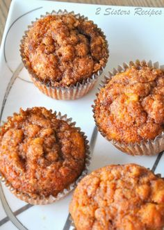 sweet potato recipes Cinnamon Sweet Potato Muffins - 2 Sisters Recipes by Anna and Liz Sweet Potato Cinnamon, Sweet Potato Muffins, Mashed Sweet Potatoes, Sweet Potato Cupcakes, Sweet Potato Dessert, Mash Sweet Potato Recipes, Sweet Potato Mash, Loaded Sweet Potato, Muffin Recipes