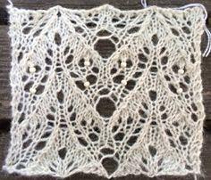 Summer (free lace knitting pattern)
