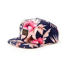 Obey Tropics Floral Snapback Hat Cute Hats 135213efa49