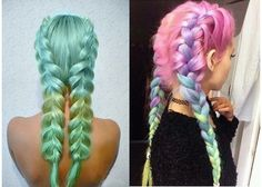 french braid colorida 1