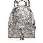 Michael Michael Kors Rhea Zip Metallic Medium Leather Backpack - 100% Exclusive