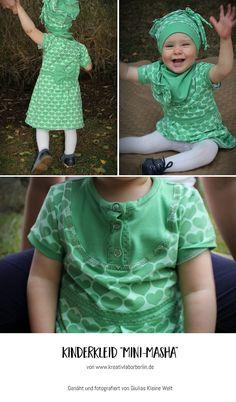 "Mini-Masha von ""Giulias Kleine Welt"": http://de.dawanda.com/product/106471287-schnittmuster-kleid-shirt-mini-masha-92-164"