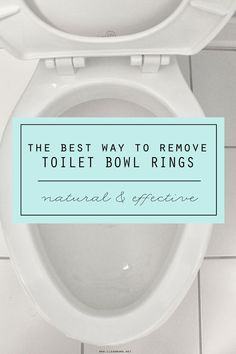 If you've ever had toilet bowl rings and stains, you know that they seem next to impossible to remove. Toilet bowl rings are the result of hard water and mineral deposits that develop from standing water in the bowl or from the toilet not being flushed multiple times during the day. No amount of scrubbing,... (read more...)