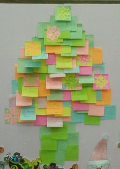 New Year's wishes tree