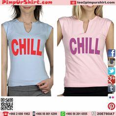 #chill #bella #sleeveless #women #top #pink #baby #blue #custom #customize #jeddah #saudi #arabia #saudiarabia #ksa #tagsforlikes #shirtoftheday #beauty #fashion #soft #cotton #cool #me #cute #text #design #logo #printing #chilling #relax                                              Email - tee@pimpurshirt.com Store - Jeddah, KSA Web - www.pimpurshurt.biz Order through any means. We can customize any of your clothing.
