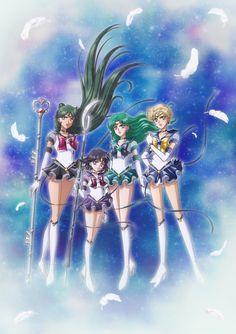 Sailor Moon Fan Art, Sailor Moon Manga, Sailor Saturn, Sailor Moon Crystal, Sailor Neptune, Moon Pictures, Moon Pics, Sailor Moon Personajes, Sailor Moon Aesthetic